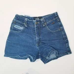 Fubu Jean Shorts Vintage Destrssed Girls 10 E1